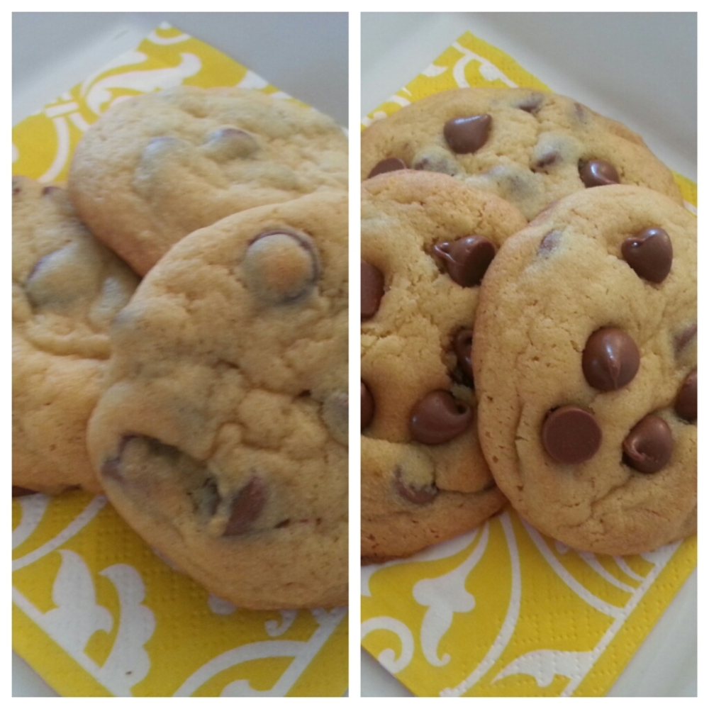 Soft & Chewy Chocolate Chip Cookies (2/2)